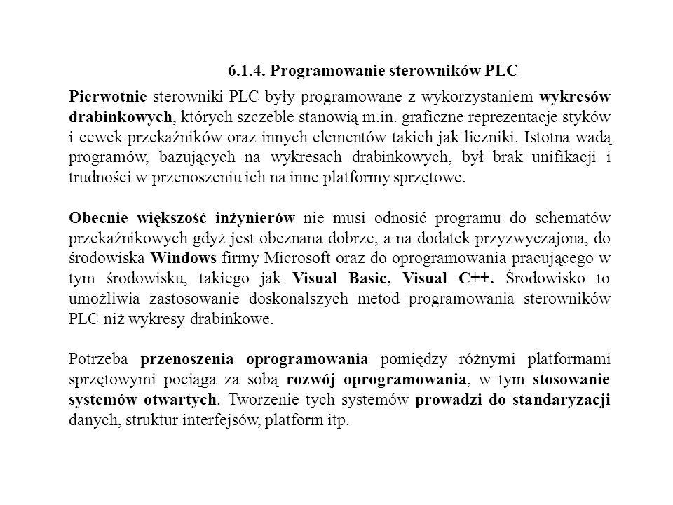 6.1.4. Programowanie sterowników PLC