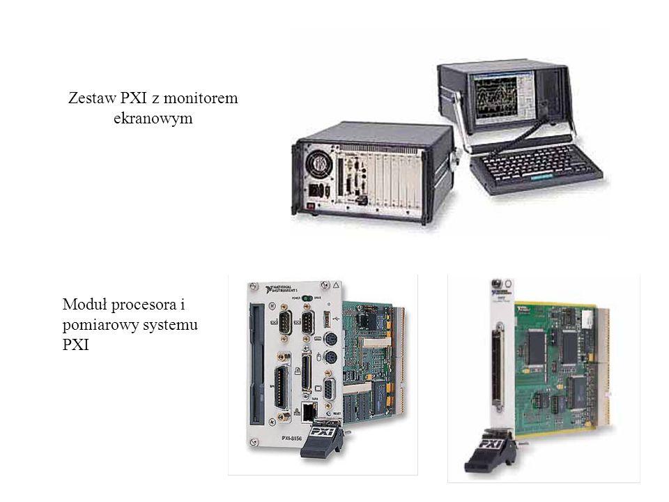 Zestaw PXI z monitorem ekranowym