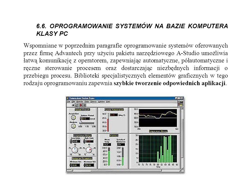 6.6. OPROGRAMOWANIE SYSTEMÓW NA BAZIE KOMPUTERA KLASY PC