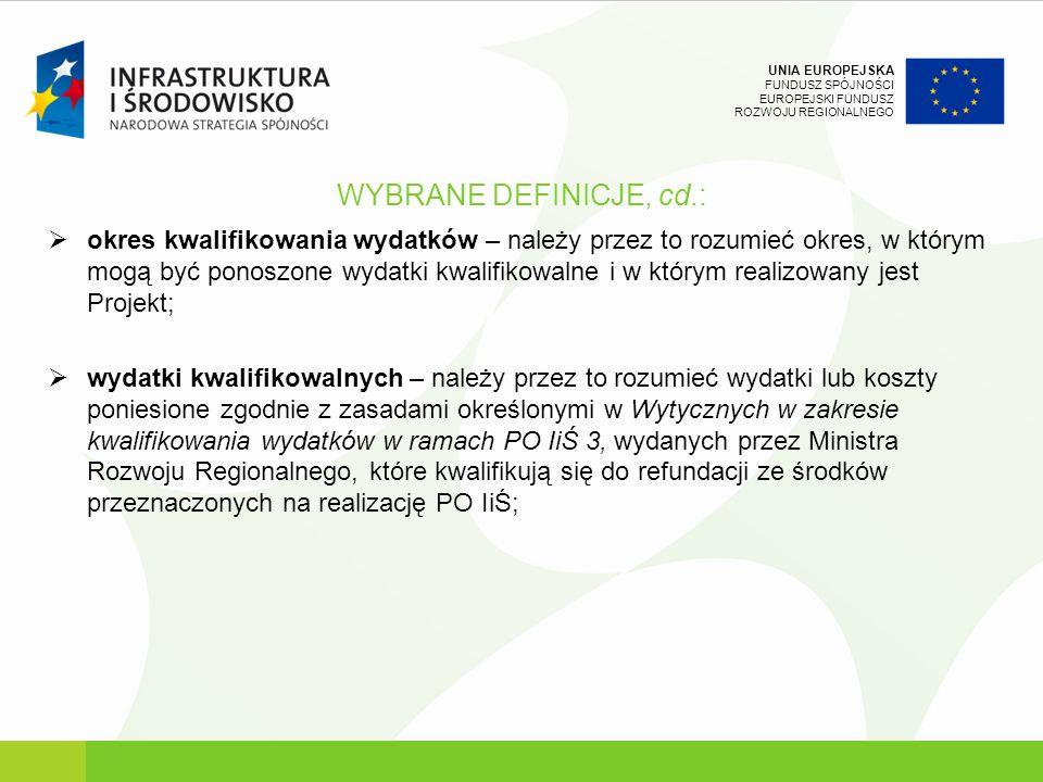 WYBRANE DEFINICJE, cd.: