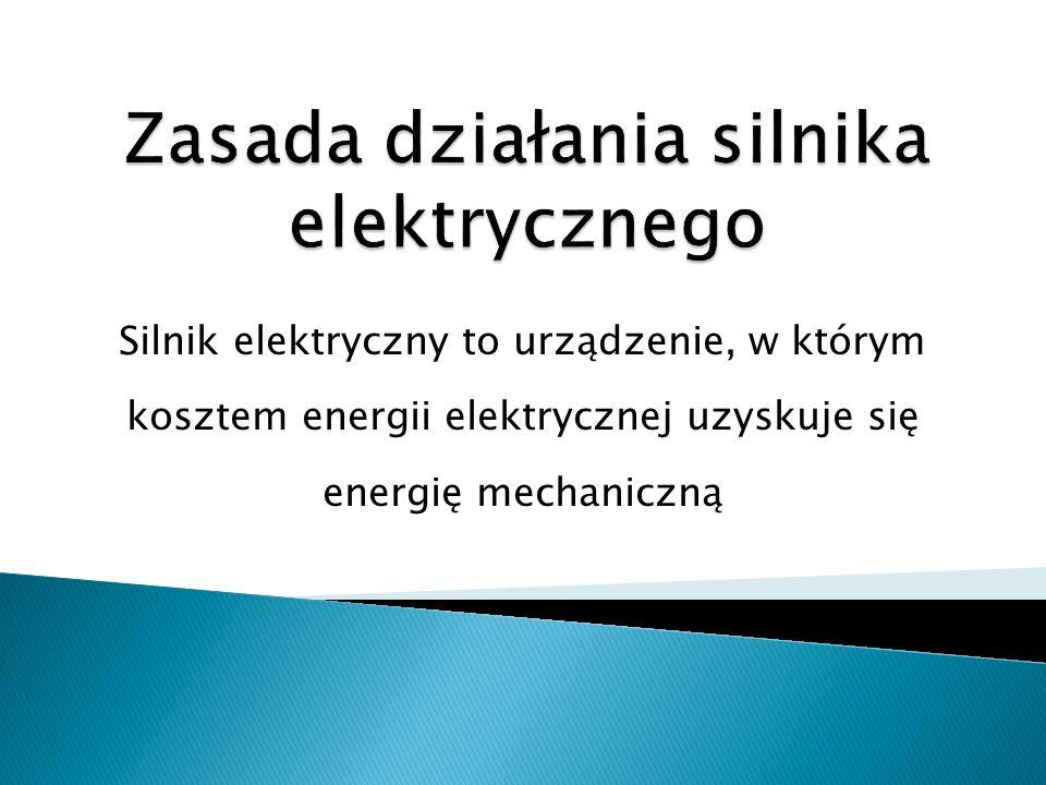 Zasada działania silnika elektrycznego
