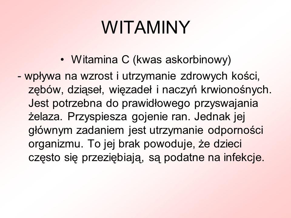 Witamina C (kwas askorbinowy)