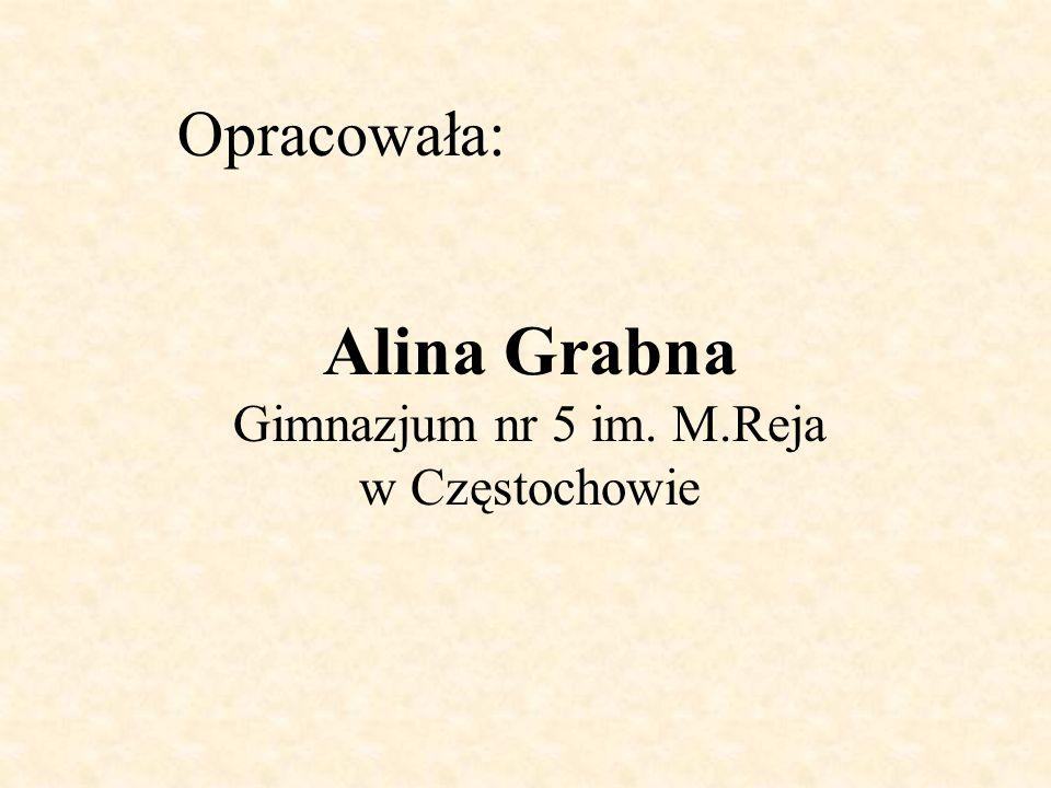 Alina Grabna Gimnazjum nr 5 im. M.Reja w Częstochowie