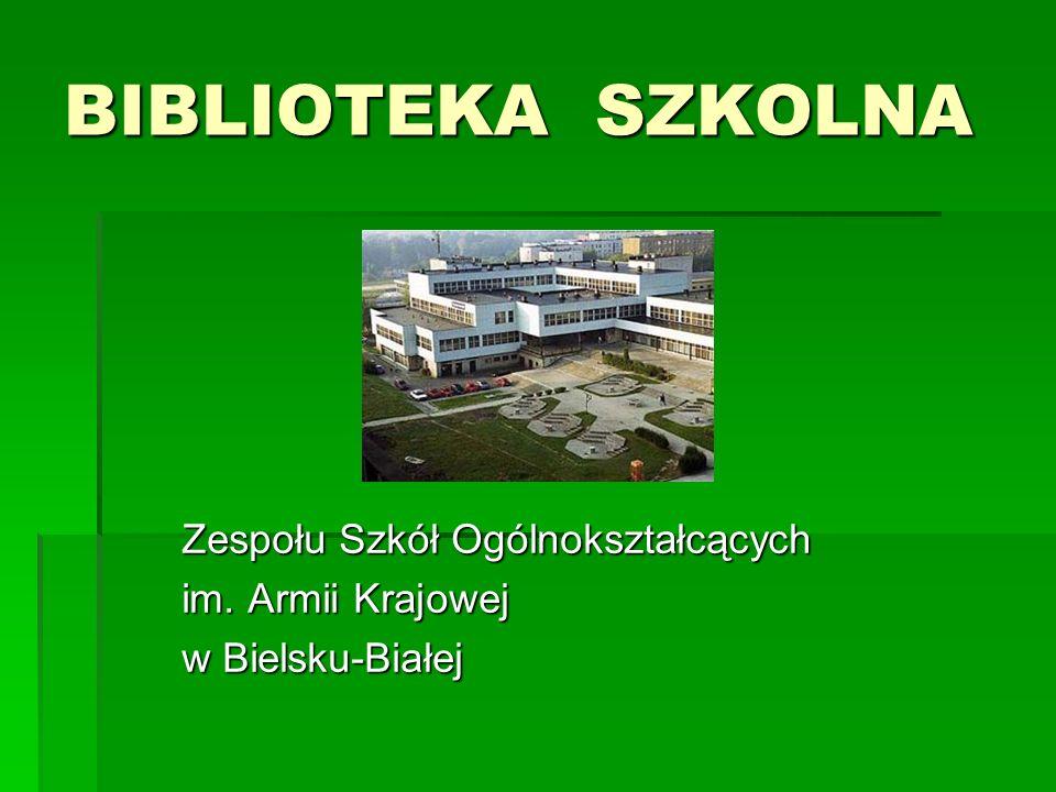 Zespołu Szkół Ogólnokształcących im. Armii Krajowej w Bielsku-Białej