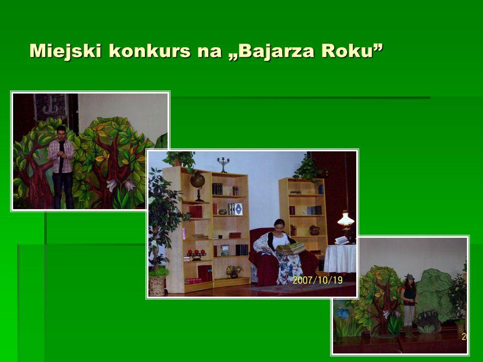 "Miejski konkurs na ""Bajarza Roku"