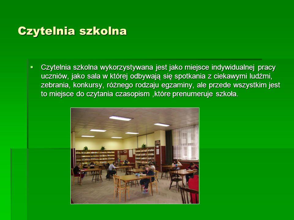 Czytelnia szkolna