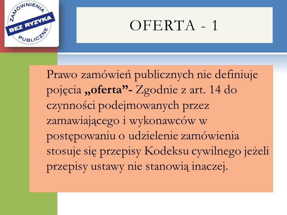 OFERTA - 1