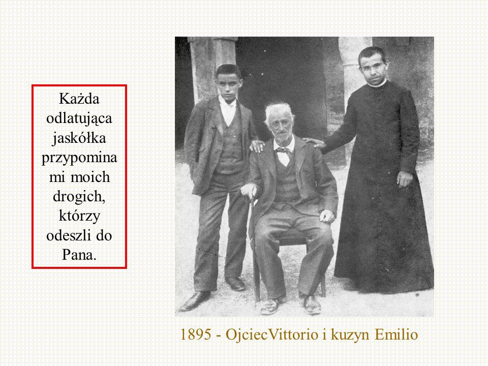1895 - OjciecVittorio i kuzyn Emilio