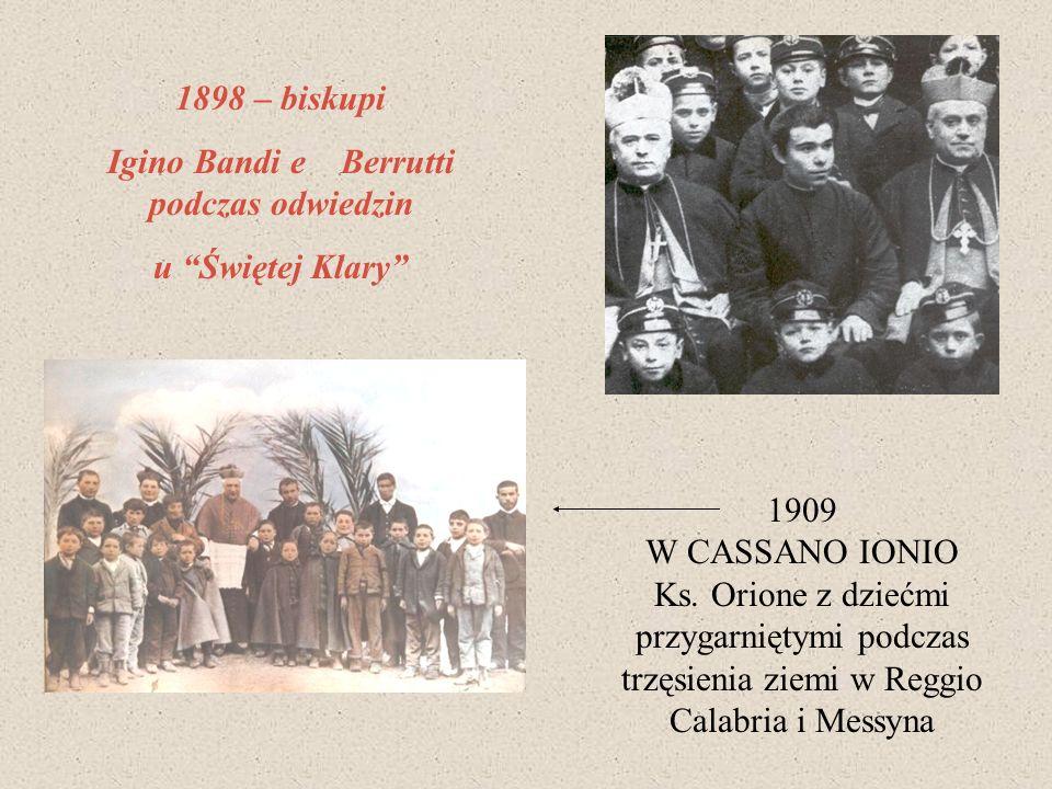 Igino Bandi e Berrutti podczas odwiedzin