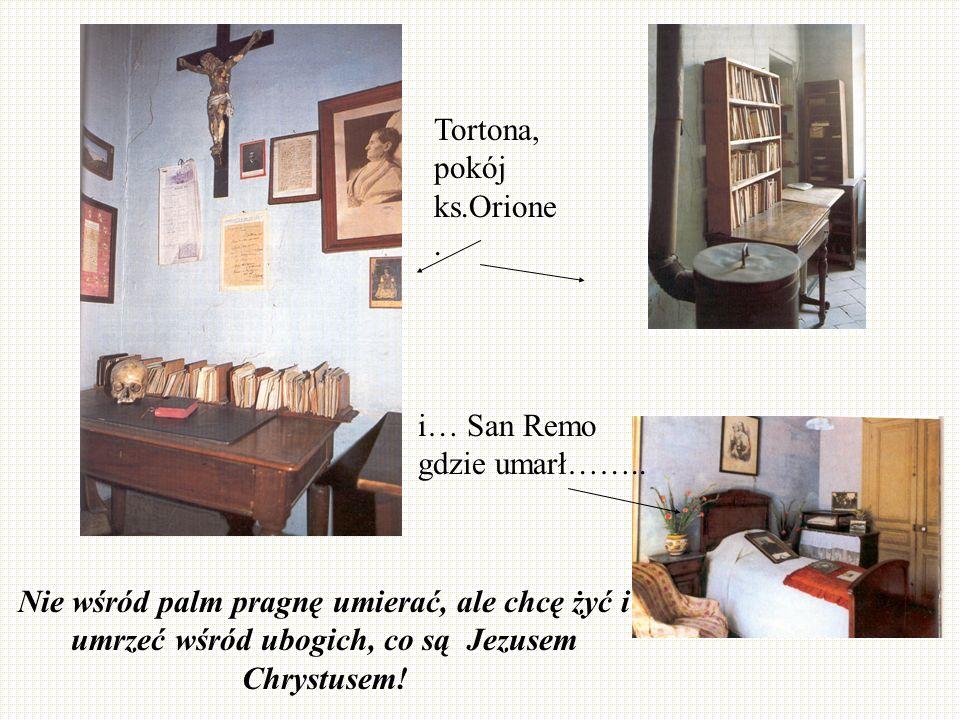 Tortona, pokój ks.Orione.