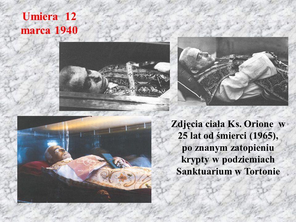 Umiera 12 marca 1940 Zdjęcia ciała Ks.