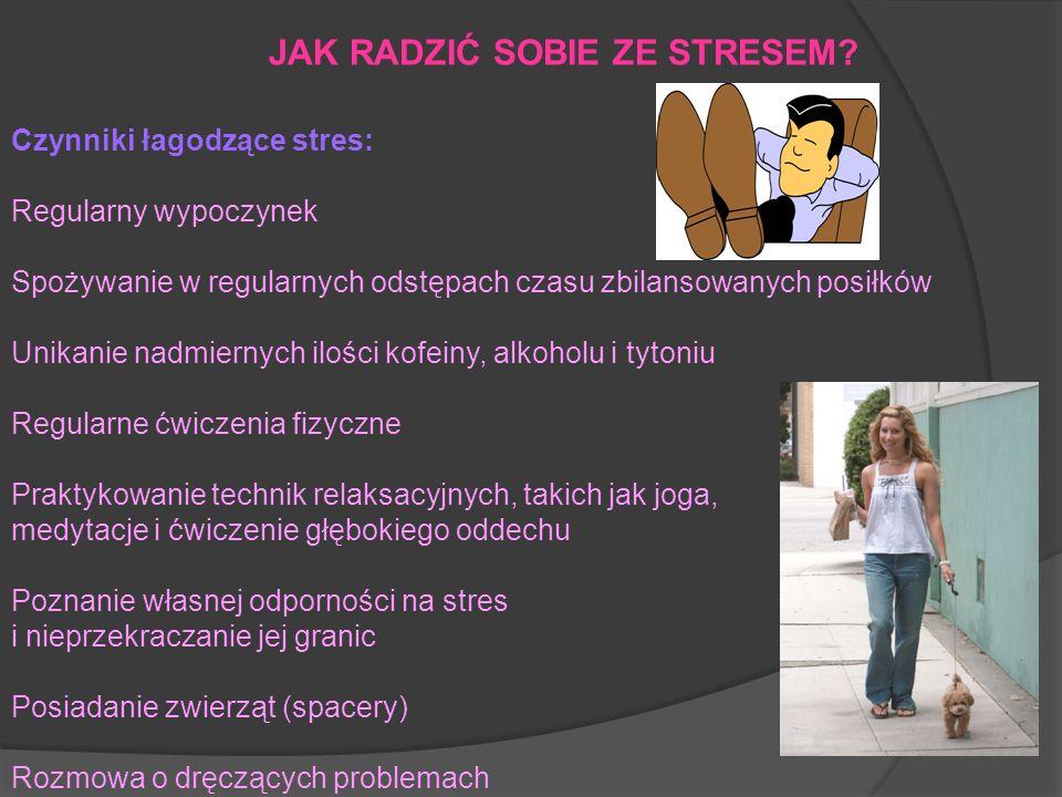 Czynniki łagodzące stres: Regularny wypoczynek