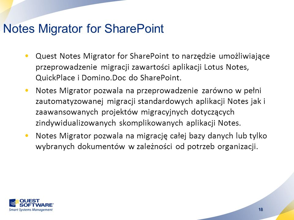 Notes Migrator for SharePoint