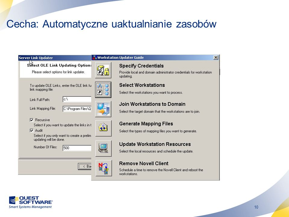 Cecha: Automatyczne uaktualnianie zasobów