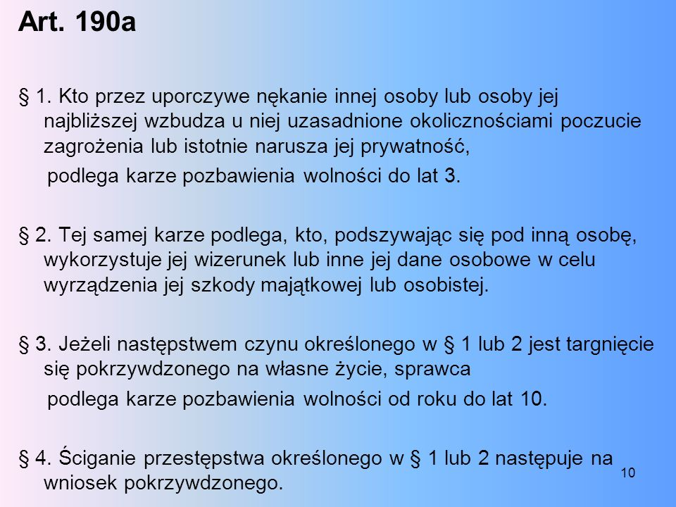 Art. 190a