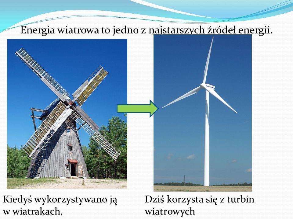 Energia wiatrowa to jedno z najstarszych źródeł energii.