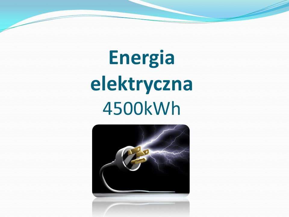 Energia elektryczna 4500kWh