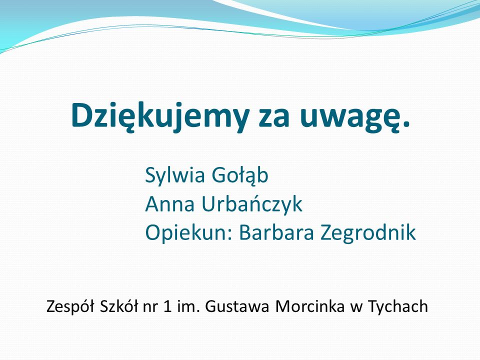 Zespół Szkół nr 1 im. Gustawa Morcinka w Tychach
