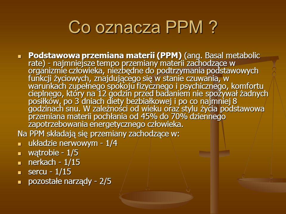 Co oznacza PPM
