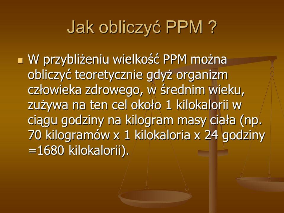 Jak obliczyć PPM