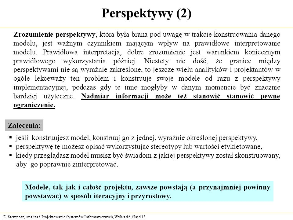 Perspektywy (2)