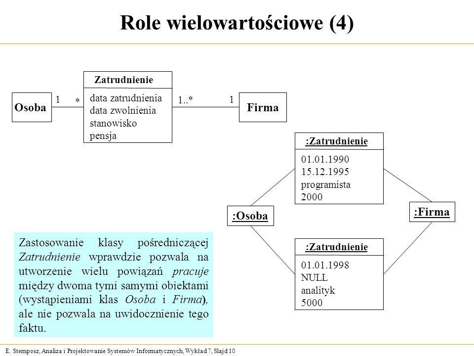 Role wielowartościowe (4)
