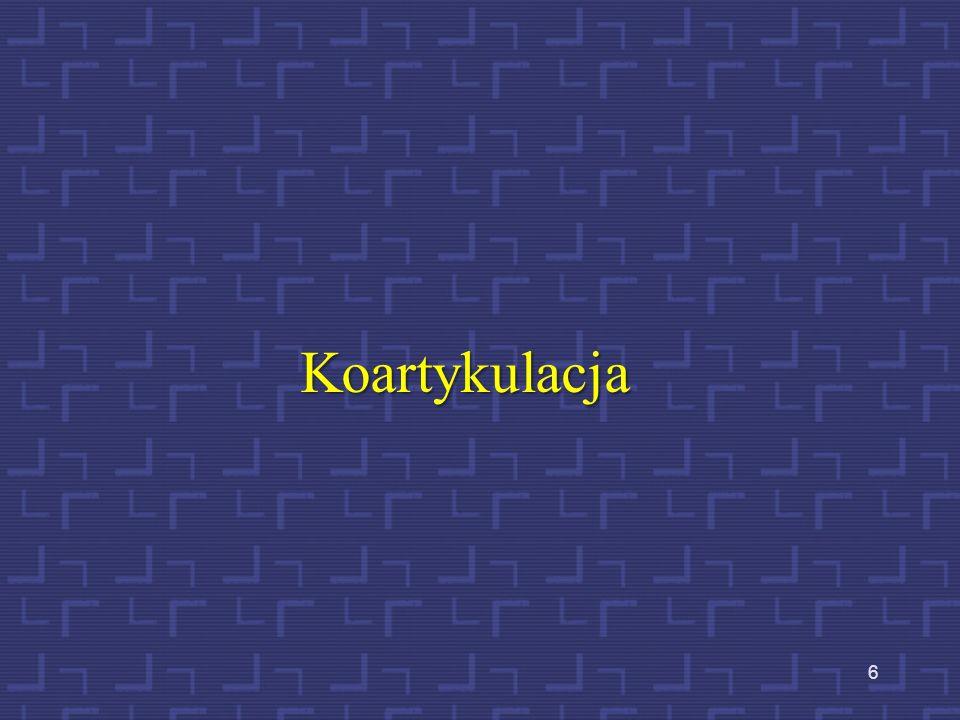 Koartykulacja