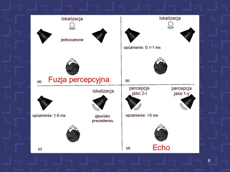 Fuzja percepcyjna Echo