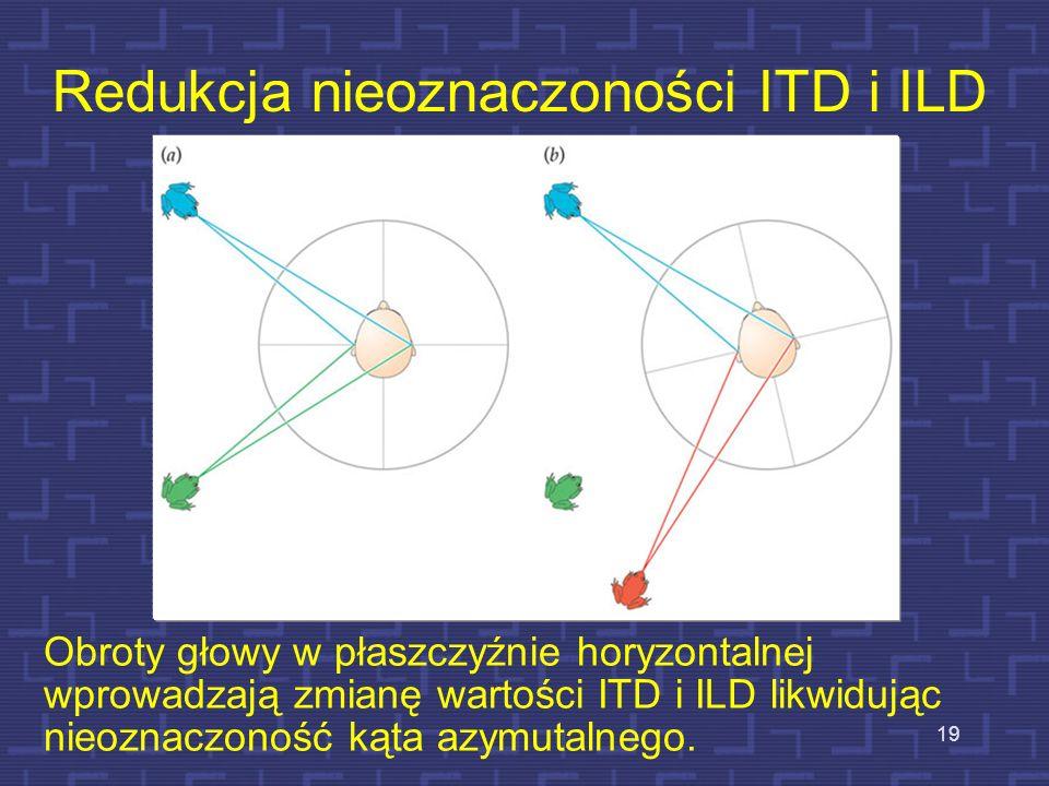 Redukcja nieoznaczoności ITD i ILD