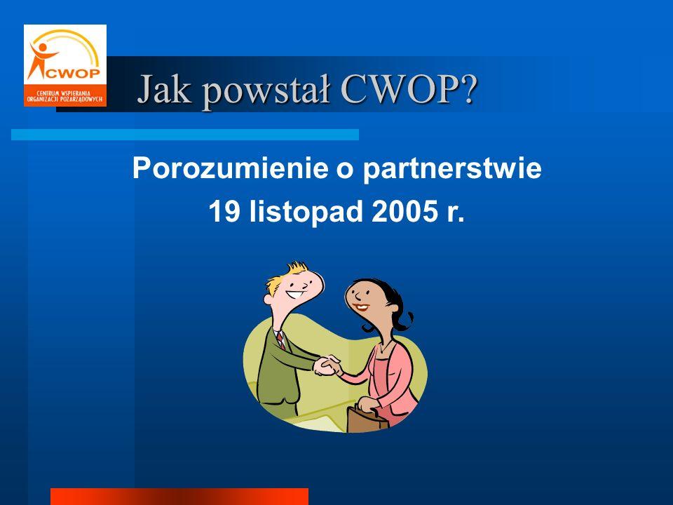 Porozumienie o partnerstwie