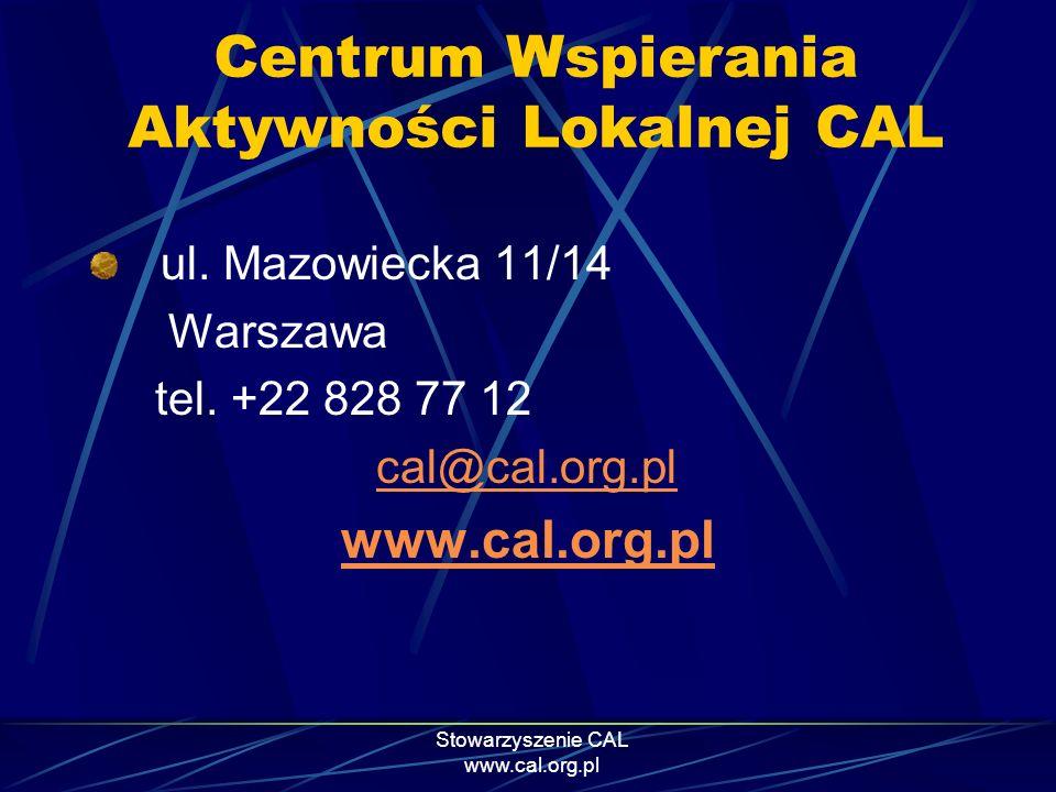 Centrum Wspierania Aktywności Lokalnej CAL