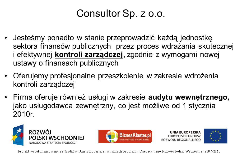Consultor Sp. z o.o.