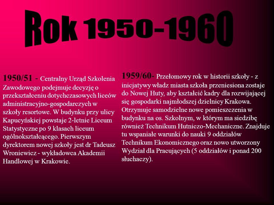 Rok 1950-1960