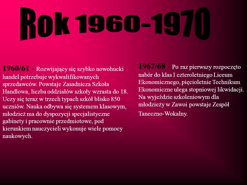 Rok 1960-1970