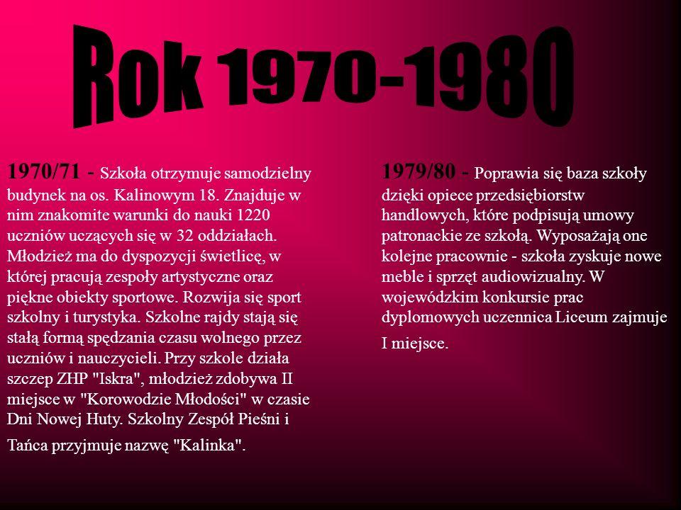 Rok 1970-1980