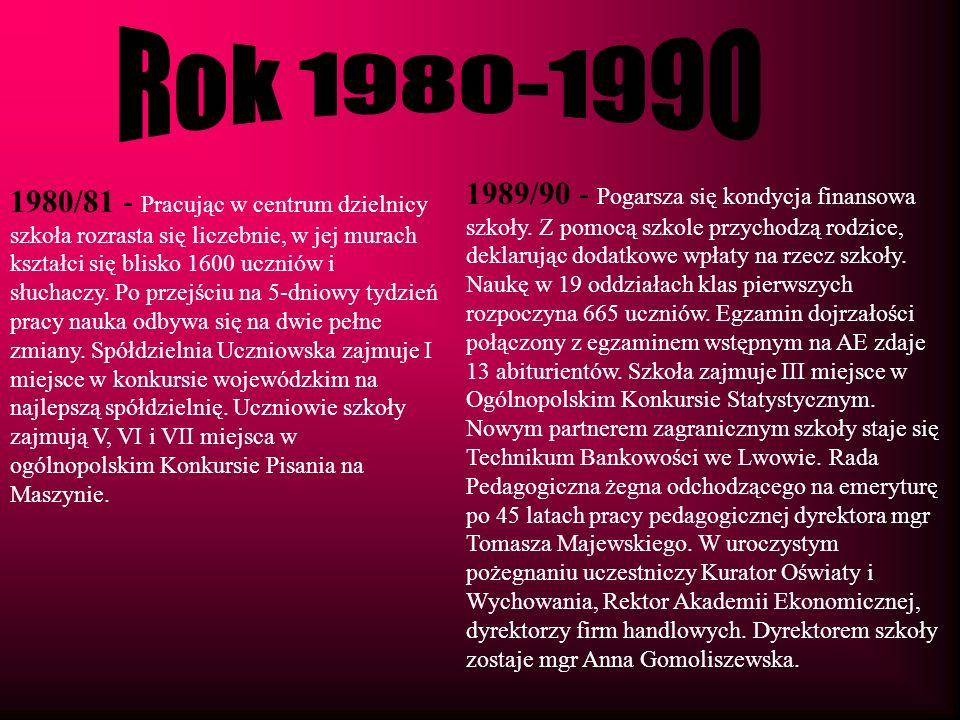 Rok 1980-1990