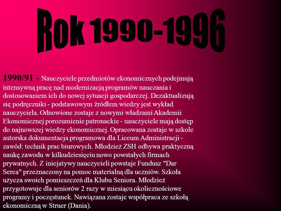Rok 1990-1996