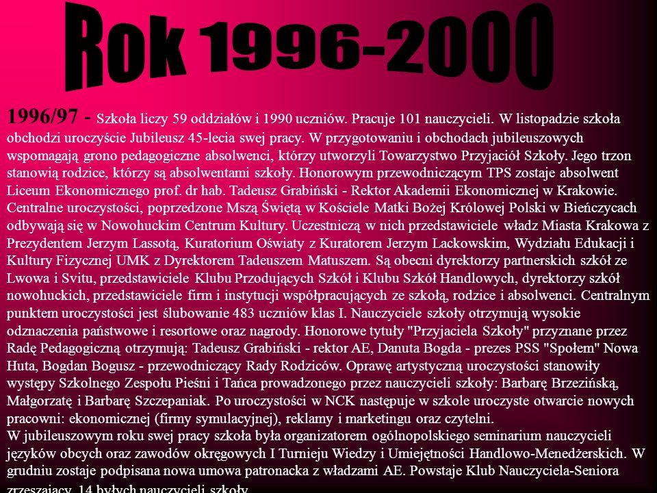 Rok 1996-2000
