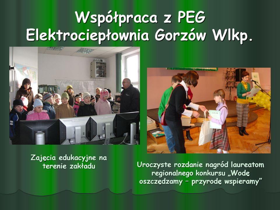 Współpraca z PEG Elektrociepłownia Gorzów Wlkp.