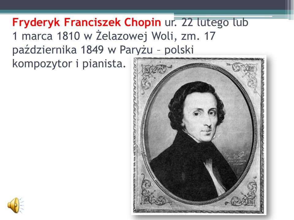 Fryderyk Franciszek Chopin ur
