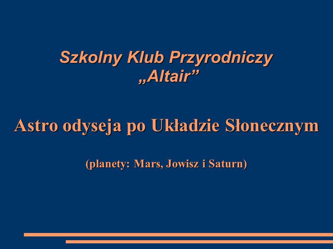 """Szkolny Klub Przyrodniczy """"Altair"""