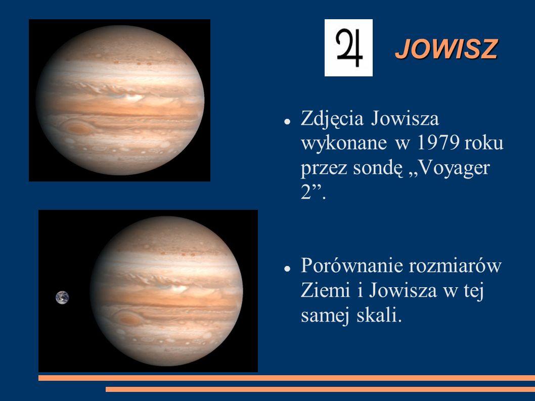 """JOWISZ Zdjęcia Jowisza wykonane w 1979 roku przez sondę """"Voyager 2 ."""