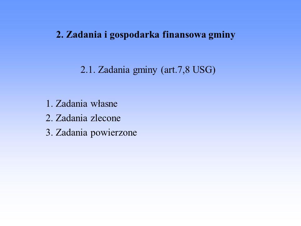 2. Zadania i gospodarka finansowa gminy