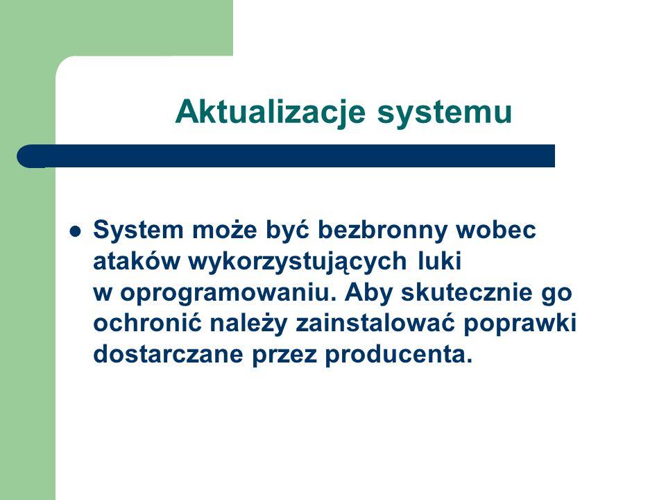 Aktualizacje systemu