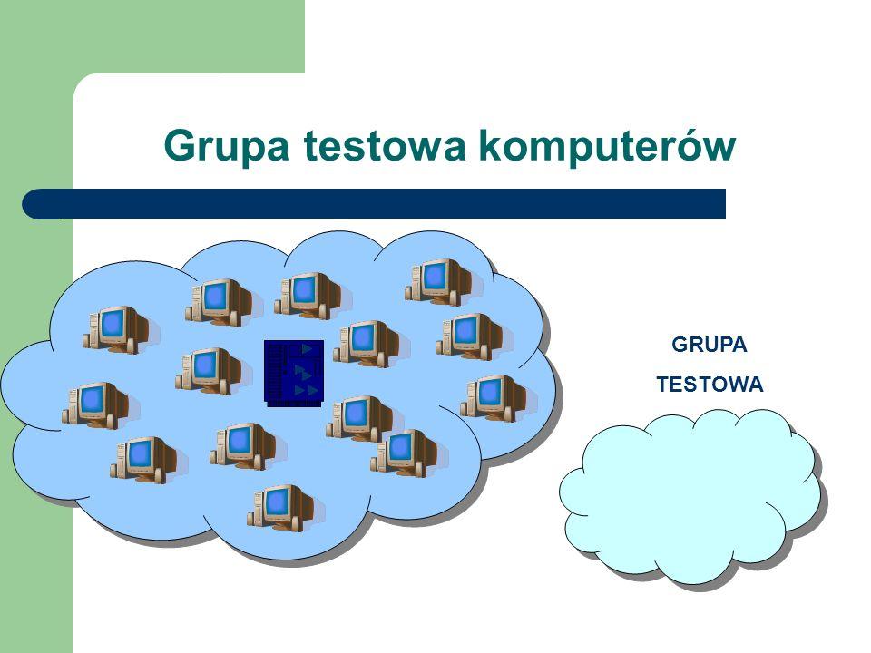 Grupa testowa komputerów