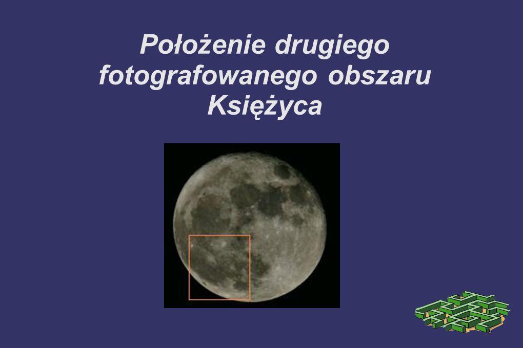 Położenie drugiego fotografowanego obszaru Księżyca
