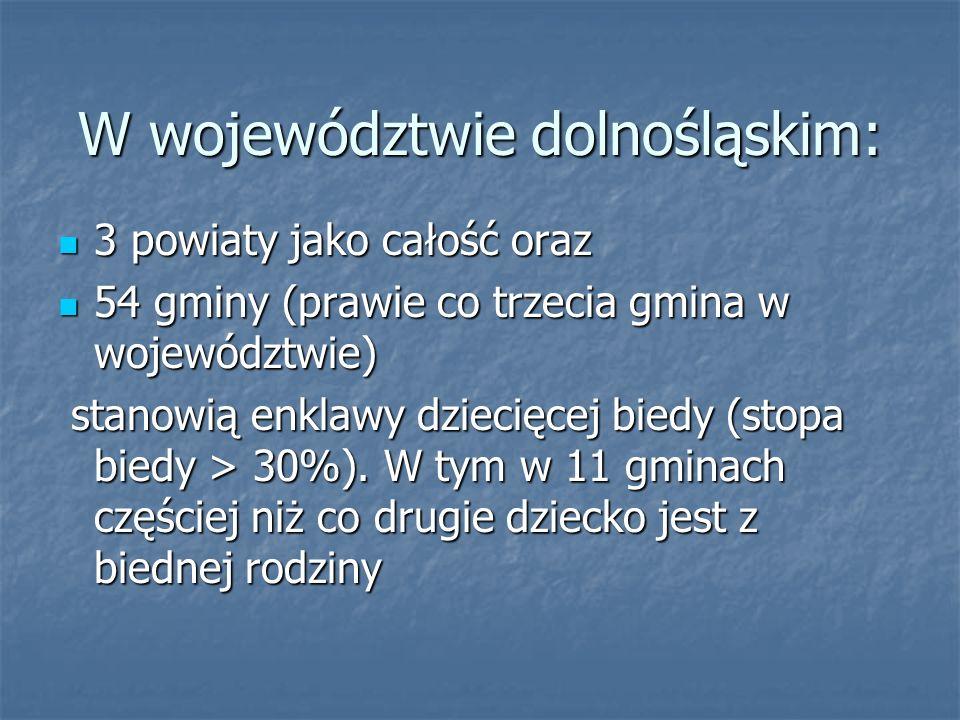 W województwie dolnośląskim: