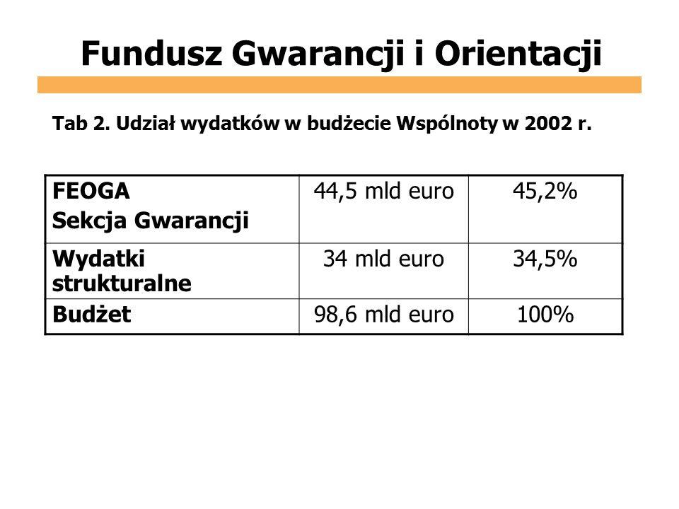 Fundusz Gwarancji i Orientacji