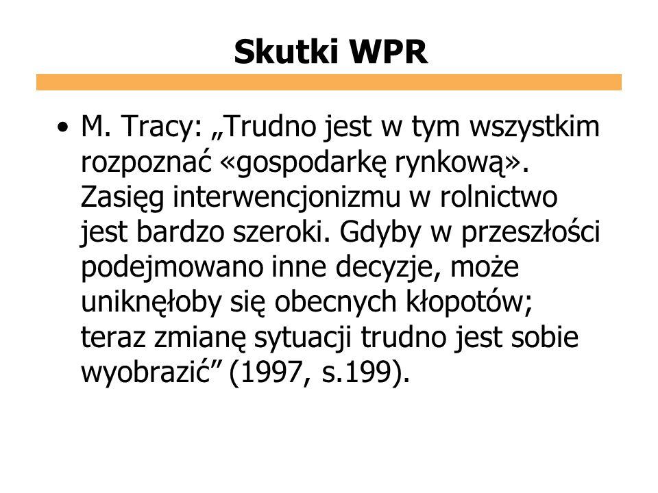 Skutki WPR