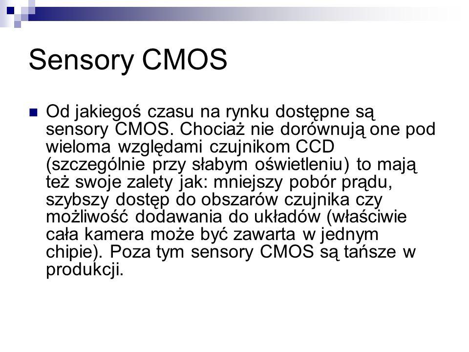 Sensory CMOS